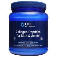 Kolagen Collagen Peptides for Skin & Joints - Peptydy Kolagenowe typu I, II i III (343 g) Life Extension