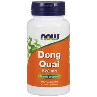 Dong Quai Root 520 mg - Dzięgiel Chiński (100 kaps.) NOW Foods