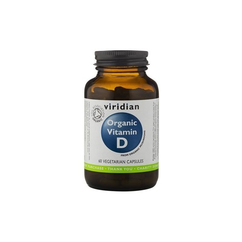 Naturalna witamina D (30 kaps.) Viridian