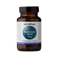 Kwas hialuronowy 50 mg (30 kaps.) Viridian