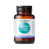 Horseradish & Garlic Complex - Chrzan + Czosnek (30 kaps.) Viridian