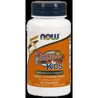 BerryDophilus Kids - Probiotyk dla dzieci (60 tabl.) NOW Foods