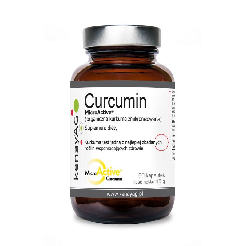 Zmikronizowana Kurkuma - Curcumin (60 kaps.) KenayAG
