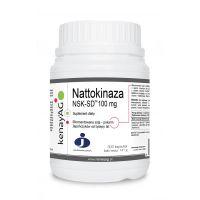 Nattokinaza NSK-SD 100 mg (300 kaps.) Kenay