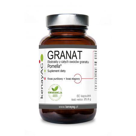 Pomella - Ekstrakt z Granatu (60 kaps.) Kenay AG