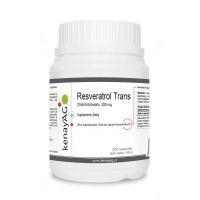 Resveratrol trans zmikronizowany 200 mg (300 kaps.) Kenay