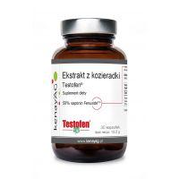 Testofen - Ekstrakt z Kozieradki 440 mg (30 kaps.) Kenay