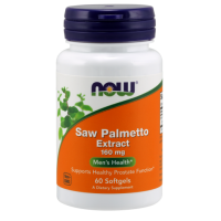 Saw Palmetto - Palma Sabalowa 160 mg (60 kaps.) NOW Foods