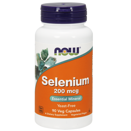 Selenium - Selen 200 mcg (90 kaps.) NOW Foods