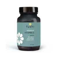 Whole Food Vitamin C - Naturalna Witamina C z bioflawonoidami (60 kaps.) Fushi