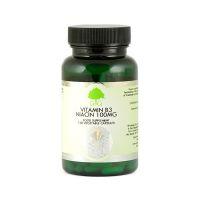 Witamina B3 - Niacyna 100 mg (120 kaps.) G&G