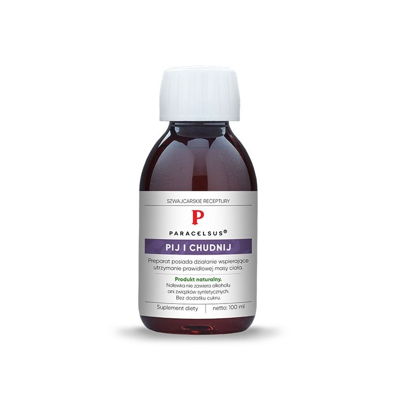Paracelsus - nalewka Pij i Chudnij (100 ml) Pharmatica