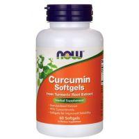 Kurkumina - Curcuma longa 95% (60 kaps.) NOW Foods