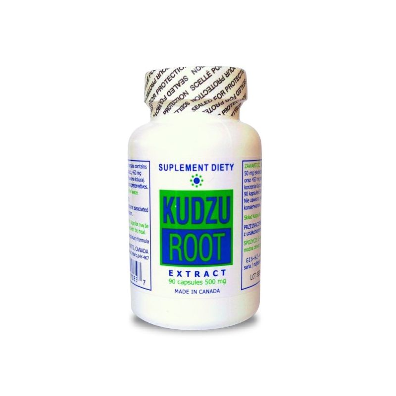 Korzeń Kudzu ekstrakt (90 kaps.) K&K Bio+