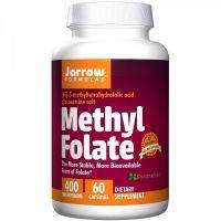 Methyl Folate Quatrefolic - Kwas foliowy 400 mcg (60 kaps.) Jarrow Formulas