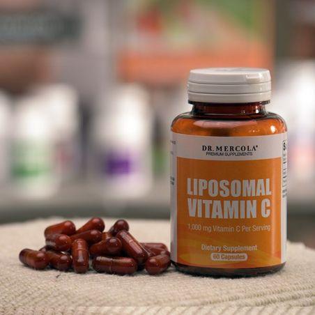 Witamina C w liposomach 500 mg (60 kaps.) Dr Mercola