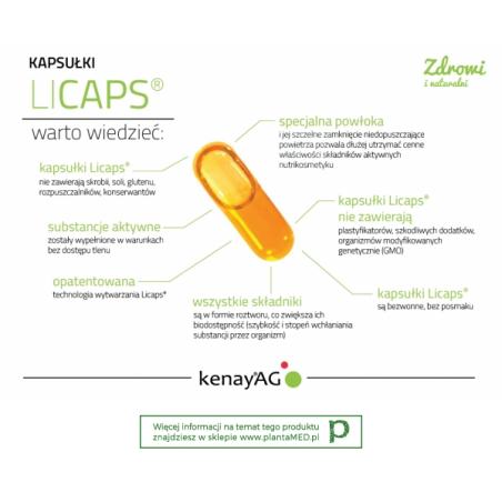 Kurkuma micelizowana 800 mg (60 kaps.) Lonza