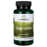 Quercetin - Kwercetyna (Dihydrat) 475 mg (60 kaps.) Swanson