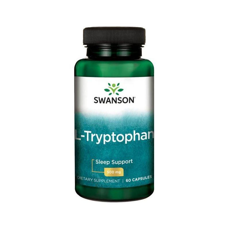 L-Tryptofan 500 mg (60 kaps.) Swanson