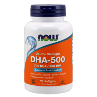 DHA 500 mg (90 kaps.) Now Foods