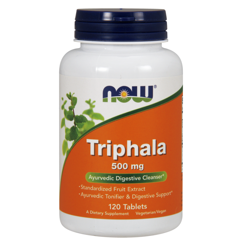 Triphala 500 mg (120 tabl.) NOW Foods