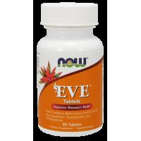 EVE Superior Womens Multi - Multiwitamina i Składniki Mineralne dla Kobiet EVE (90 tabl.) NOW Foods