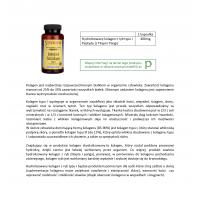 Hydrolizowany Kolagen z ryb typu I 400 mg (60 kaps.) Swanson