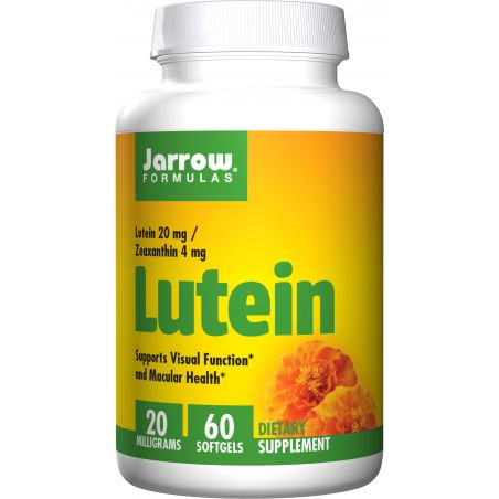 Luteina 20 mg i Zeaksantyna 4 mg (60 kaps.) Jarrow Formulas