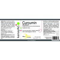 Zmikronizowana Kurkuma - Curcumin (60 kaps.) Maypro
