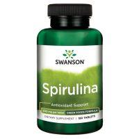 Spirulina 500 mg (180 tabl.) Swanson
