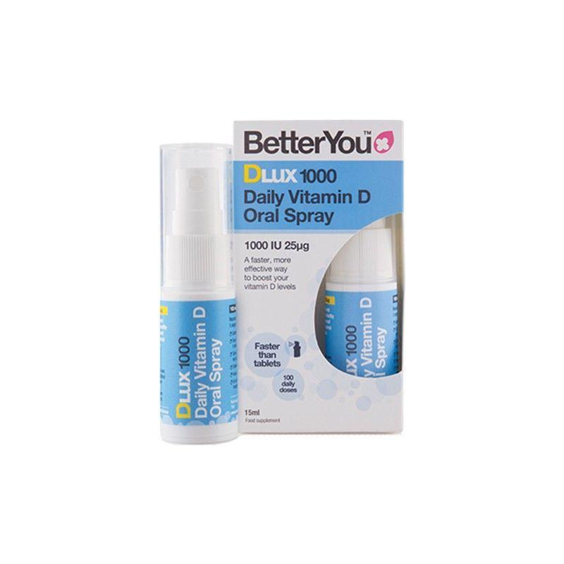 DLUX 1000 Witamina D w sprayu (15 ml) BetterYou
