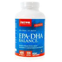 Omega 3 EPA - DHA 2:1 Balance (120 kaps.) Jarrow Formulas