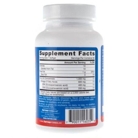 EPA-DHA Balance 600 mg (60 kaps.) Jarrow Formulas