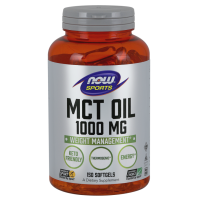 MCT Oil - Olej MCT 1000 mg (150 kaps.) NOW Foods