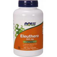 Eleuthero 500 mg - Żeń-szeń Syberyjski (250 kaps.) NOW Foods