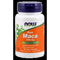 Korzeń Maca 750 mg ekstrakt 6:1 (30 kaps.) NOW Foods