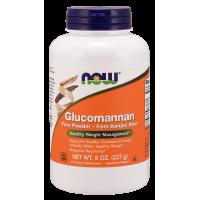 Glucomannan (Glukomannan) - Konjac Root proszek (227 g) NOW Foods
