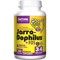 Probiotyk Jarro-Dophilus + FOS - 6 szczepów bakterii (300 kaps.) Jarrow Formulas