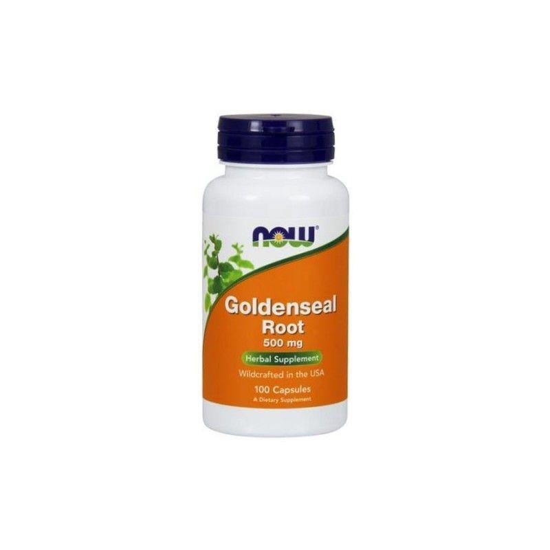 Goldenseal Root - Gorzknik Kanadyjski 500 mg (100 kaps.) NOW Foods