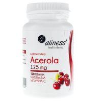 Acerola - naturalna Witamina C 125 mg (120 tabl.) Aliness