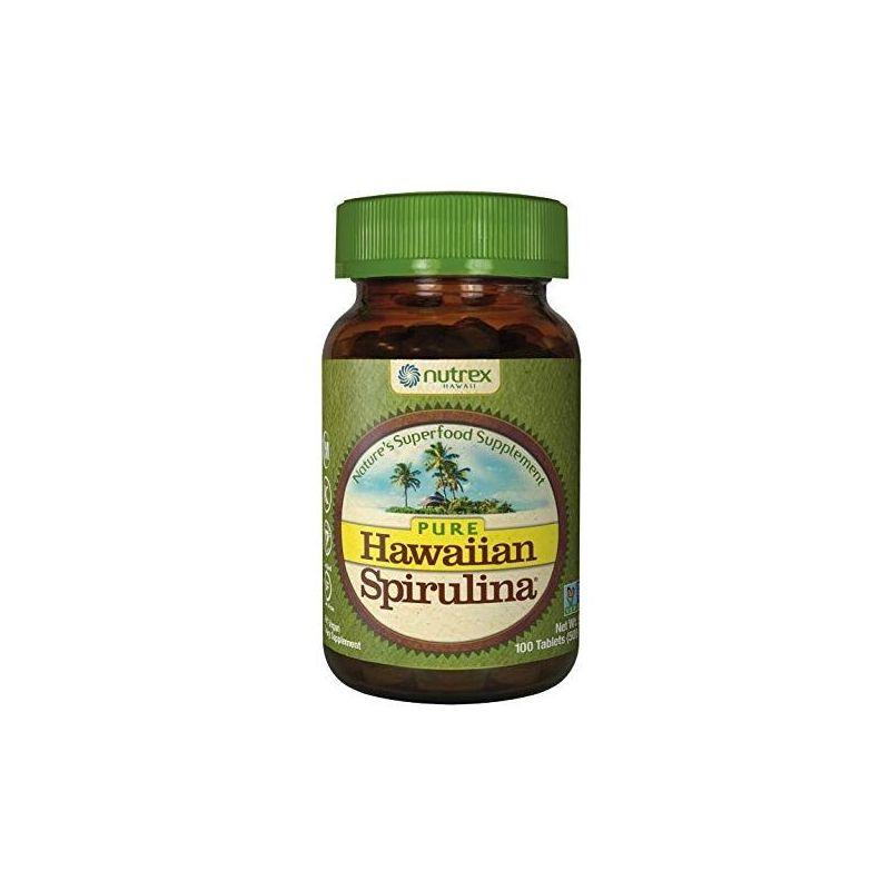 Hawaiian Spirulina - Spirulina hawajska Pacifica 500 mg (100 tabl.) Cyanotech