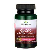 Koenzym Q10 100 mg i Tokotrienole (60 kaps.) Swanson