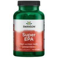 Super EPA + DHA - olej z ryb z Omega 369 (100 kaps.) Swanson