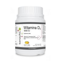 Witamina D 5000 IU (300 kaps.) Soft Gel