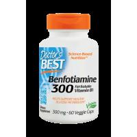 Benfotiamina BenfoPure 300 mg i L-Leucyna 40 mg (60 kaps.) Doctor's Best
