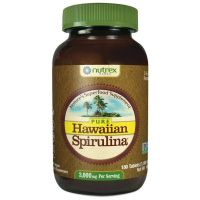 Hawaiian Spirulina - Spirulina hawajska Pacifica 1000 mg (180 tabl.) Cyanotech / Nutrex Hawaii
