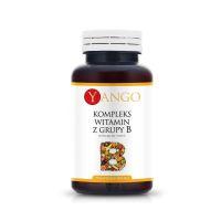 Witamina B 400 mg - kompleks Witamin B1 B2 B3 B4 B5 B6 B7 B8 B9 B10 B12 (50 kaps.) Yango