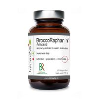 BroccoRaphanin - Aktywny ekstrakt z Nasion Brokułów 250 mg (60 kaps.) KenayAG