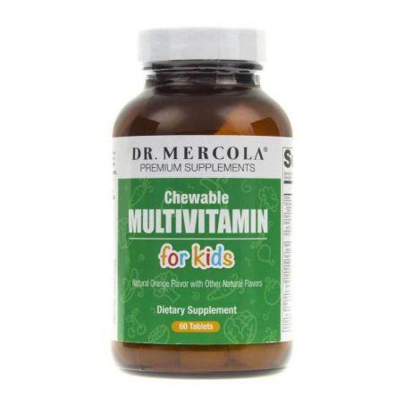 Multiwitamina do żucia dla dzieci - Chewable Multiwitamin for kids (60 tabl.) Dr Mercola