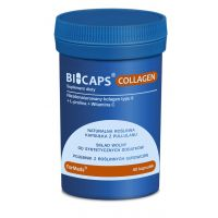 Bicaps Collagen - Kolagen + L-Prolina + Witamina C (60 kaps.) ForMeds